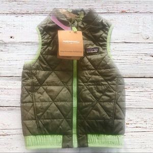 NWT PATAGONIA Puff-Ball' Reversible Vest